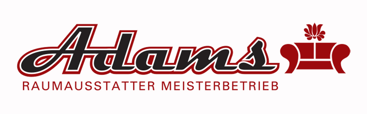 Raumausstatter logo  Raumausstattung Adams, Polsterei, Meisterbetrieb - Startseite